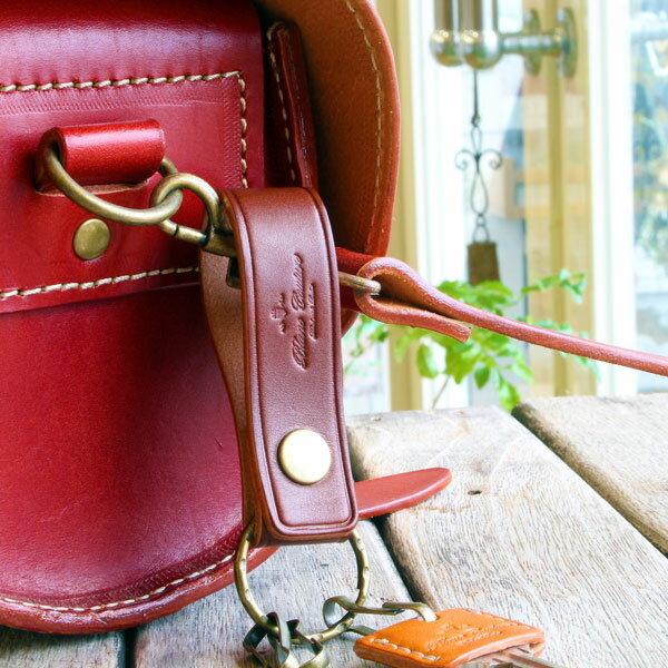 キーホルダー 革 スナップボタン / 本革 6色 鍵 カバー おしゃれ かわいい レディース メンズ レザー キーホルダー・キーケース / 誕生日 プレゼント おすすめ