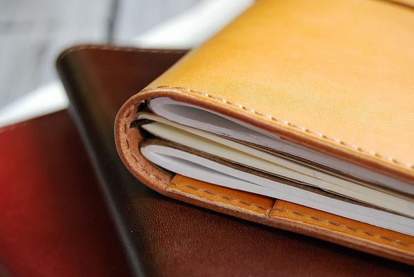 Passport case / traveler's notebook notebook cover and regular size