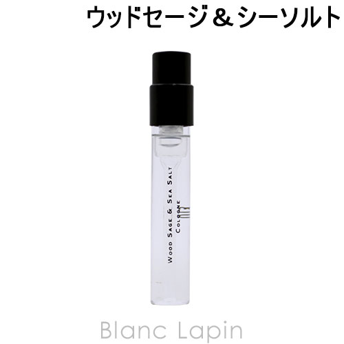 並行輸入品 ミニサイズ ジョーマローン JO 日本未発売 MALONE EDC 005997 超激安特価 ウッドセージ シーソルト 1.5ml