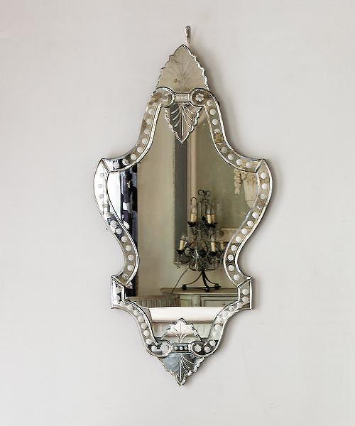 ミラー・フラミニア・アンティークガラス