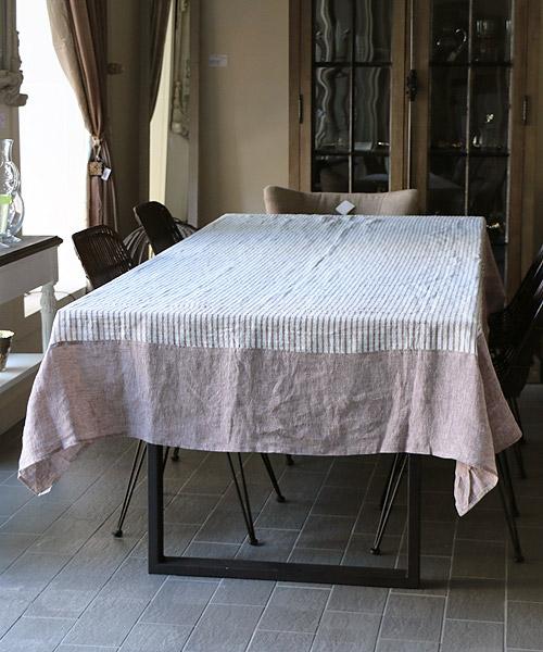 オリジナルテーブルクロス・マルシェ・マロン(L)280cm×160cm