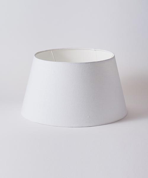 Blanc de Juillet シェード・リネンブラン・40cm/シェード リネン ブラン 白 ホワイト 照明 ランプシェード