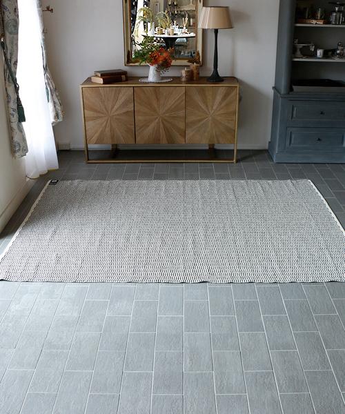 Brita Sweden アウトドアラグ・ペンバ・ベルーガ170x250/ ラグ カーペット 絨毯 OUTDOOR 屋外 マット 洗える