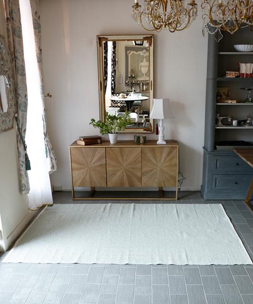 Brita Sweden アウトドアラグ・ペンバ・アクア170x250/ ラグ カーペット 絨毯 OUTDOOR 屋外 マット 洗える