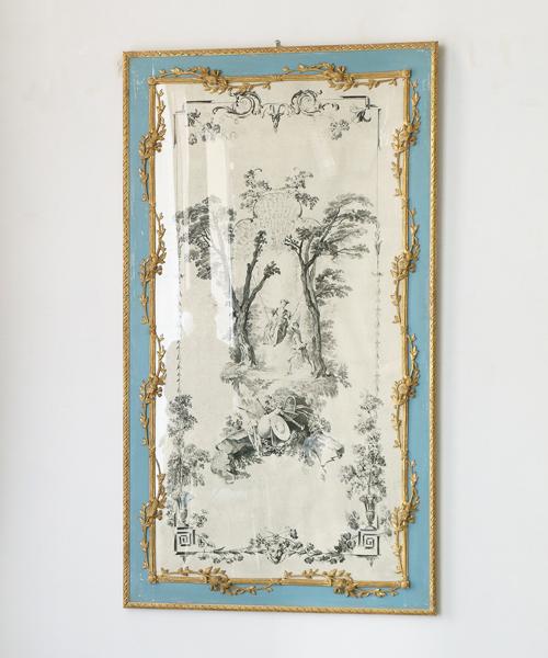 ELUSIO ジャルダン・バトーb/ 壁飾り 壁掛け アンティーク