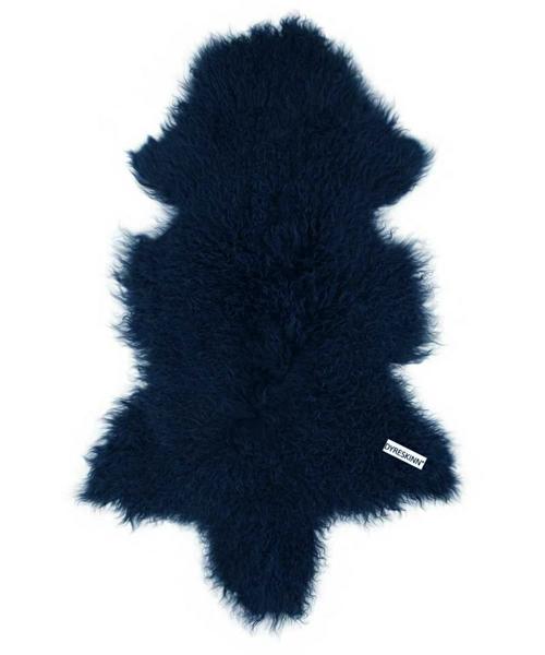 Dyreskinn シープスキン・マリンブルー/シープスキン 羊毛 ラグ マット ウール