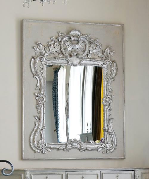 ELUSIO ミラー・レジョンス/彫刻 鏡 ウォールミラー 壁掛けミラー フランス フレンチクラシック ヨーロピアンクラシック ウォールデコレーション 装飾 インテリアオブジェ 壁飾り 応接室 美術 アート