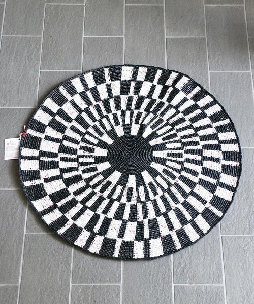 Facteur Celeste ラグ・CIBLE・Φ70cm/ ラグ 円形 洗える
