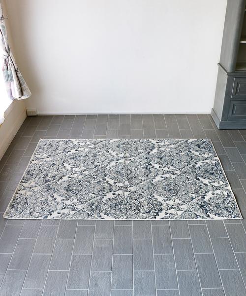 M.A.Salgueiro カーペット フレンチ 北欧 絨毯 ラグマット マット ラグ・スカルパ・アクア・160x230/ じゅうたん ラグ アンティーク 洗える