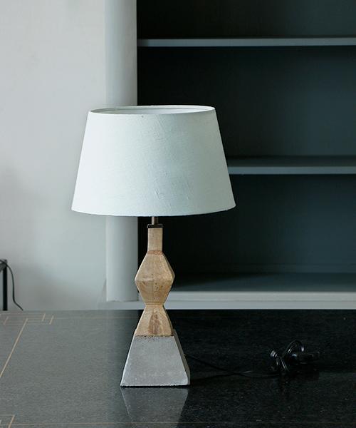 Blanc de Juillet テーブルスタンド・モンブラン/照明 電気スタンド 間接照明 アンティーク フレンチ テーブルランプ 北欧 シャビー モダン