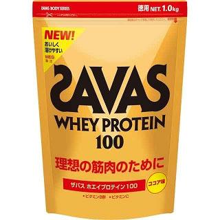 For 1.0 kg of zavas/ ザバスボディーメーカーボディーホエイプロテイン 100 (cocoa taste) ideal muscle