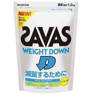 To reduce it by zavas/ ザバスボディーメーカーボディープロテインウエイトダウン (yogurt taste) 1.2 kg