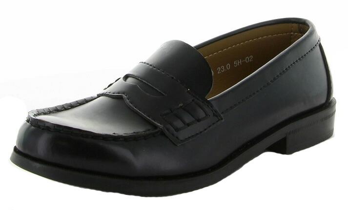 ベーシックなデザインで通学用の定番品です ムーンスター BVL530 ローファー 割引 レディース用 通学 シューズ 21.0cm~26.5cmレディース 日本製 ブラック 女子用 入学式 全1色 学生靴 3E 卒業式
