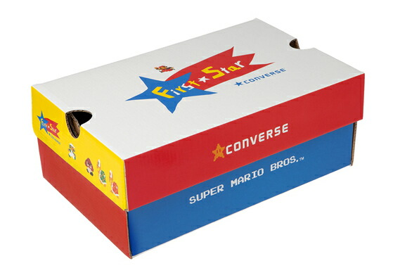 Converse CONVERSE sneakers supervised チャイルドオールスタースーパーマリオブラザース PS RZ HI (HI RZ CHILD ALL STAR SUPER MARIO BROS. and PS) regular products