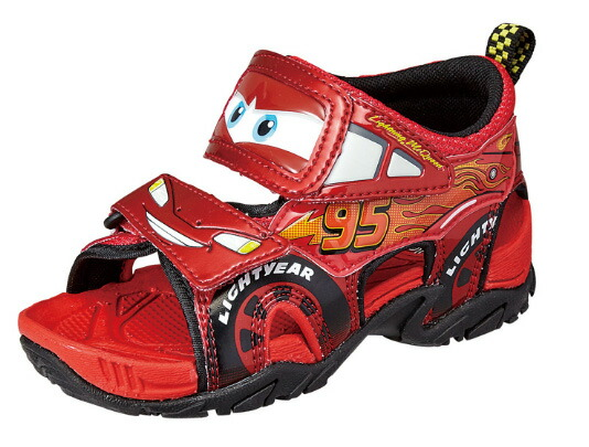 Disney Cars Lightning Mcqueen Sandals Kids Shoes Dn C1170