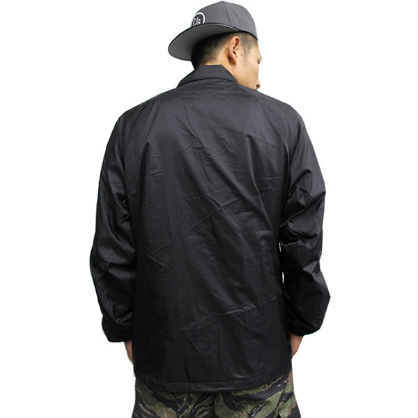 """Dickies jacket outer coach jacket big size big size men street nylon hip-hop lowrider fashion """"black"""" work clothes working clothes immediate delivery"""