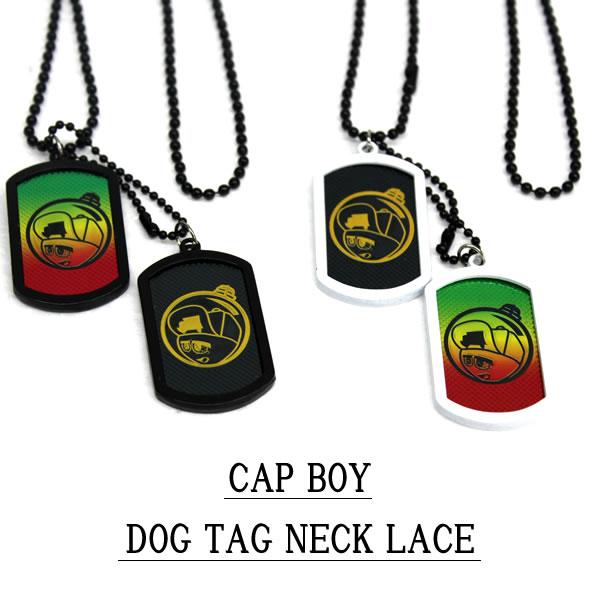 WEB限定 メンズストリートファッションならBLAST ランキングTOP5 DOG TAG CAPBOY NECKLACE