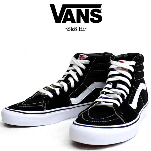 eb0d9b0774f9 VANS   vans VANS sneakers U.S imported from SK8-HI skating high VN-0D5IB8C  VANS skating high US limited model Sk8-Hi classic low cut ladies mens  sneakers ...
