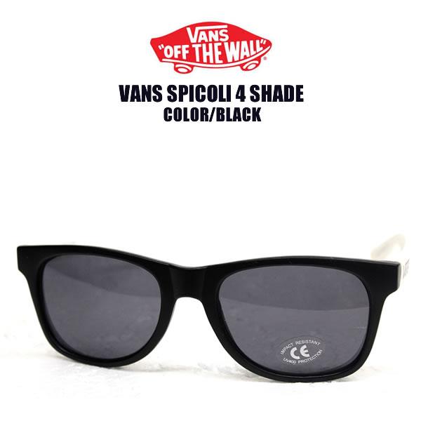 e921ec4e1f3 blast  VANS   vans sunglasses SPICOLI 4 SHADE Black×White Spicoli 4 ...
