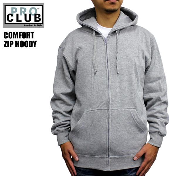 blast  PRO CLUB   Pro Club plain parka gray grey PROCLUB hoodies ... 6c6ce0c88b41