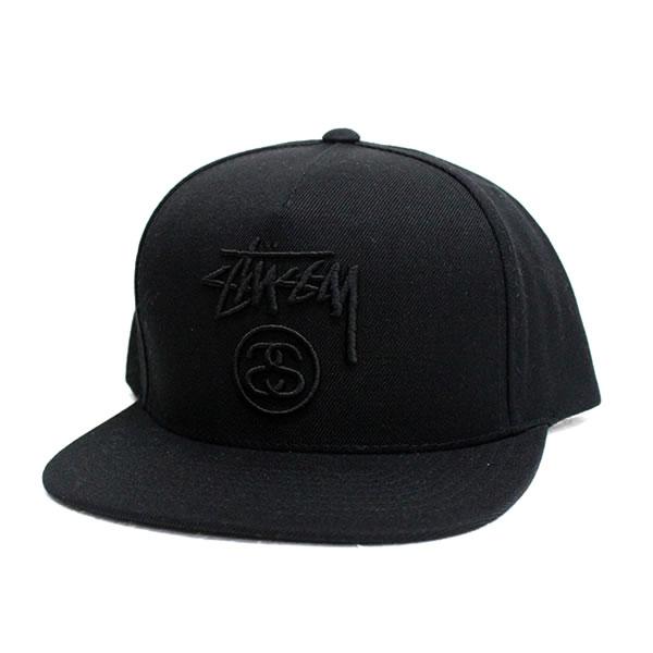75611398fe5 blast  STUSSY Stussy CAP black logo street fashion accessories ...