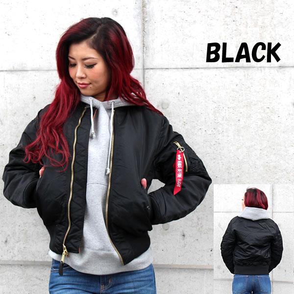 ALPHA INDUSTRIES US Alpha industries outerwear women s outerwear jacket  blouson was all tri-color military winter black Navy Sage Green Khaki Black  Navy 7e32c58c08