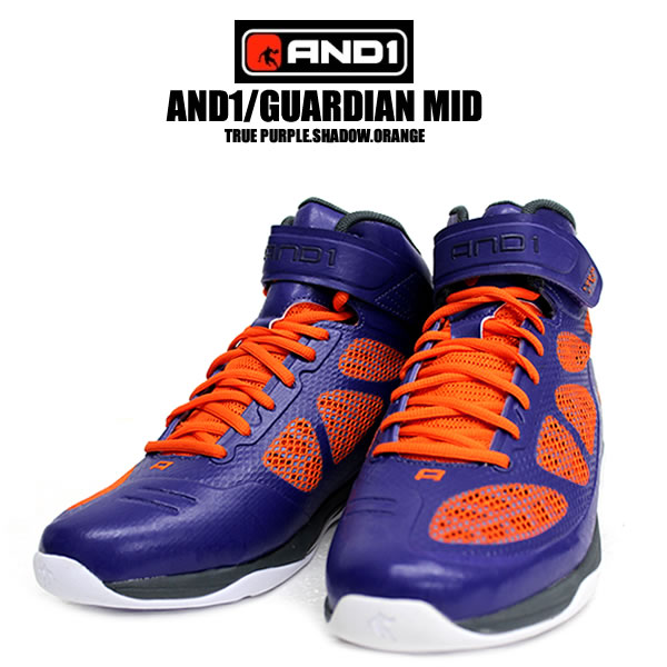 and1 / Tai-GUARDIAN MID guardian mid basketball shoes bash purple  basketball shoes Bashir sneakers & 1 sneakers mens shoes for men