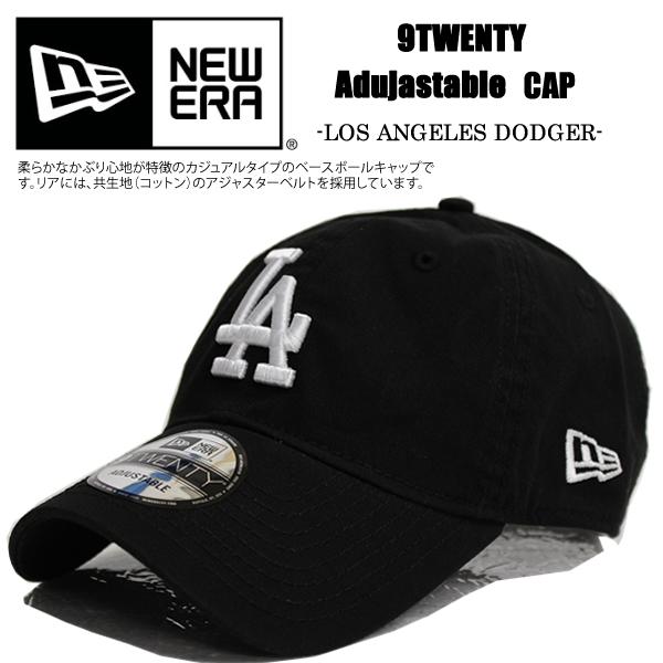 NEWERA new gills cap black 9TWENTY Los Angeles Dodgers 6PANEL MLB Los  Angeles Dodgers hat sports baseball adjuster men gap Dis fashion street  pair look la 14132cd64864