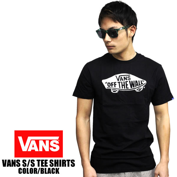 a6a5a700e4 blast  VANS   vans short sleeve T shirt OTW LOGO off the wall black ...