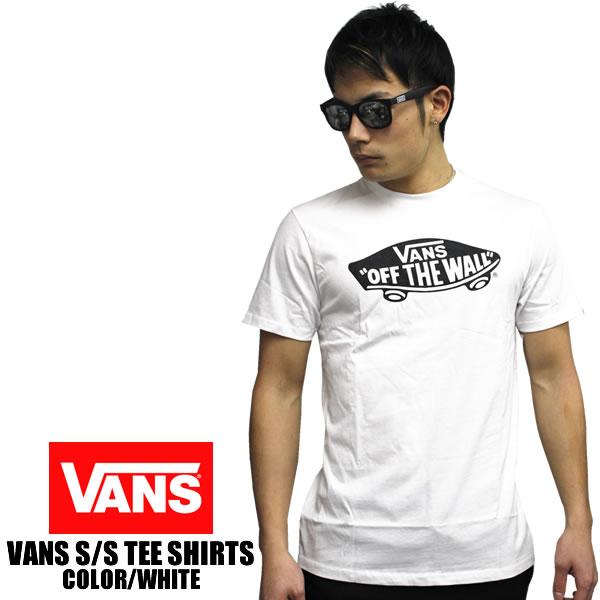 2775a529 VANS / vans short sleeve T shirt OTW LOGO off the wall White x black VANS  USA black vans vans tee shirt spring summer short sleeve 2016 model USVANS  ...