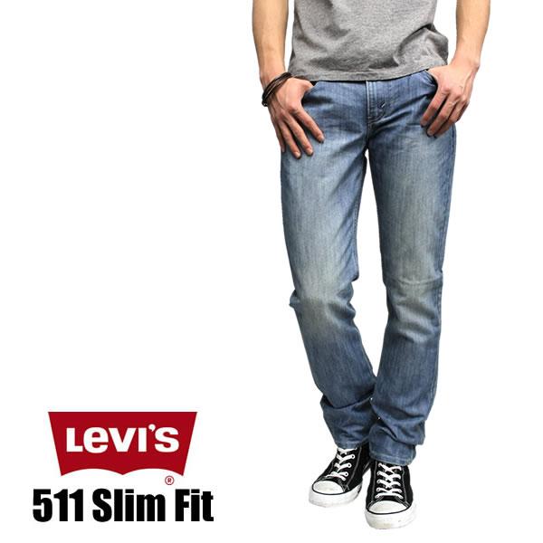 ec5eee056d20 LEVI's and Levi's 511 slim fit closure denim LIGHT POLY 04566-0751 LEVI's  511 LEVIS ...