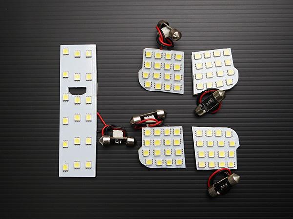 2020新作 LEDルームランプ アテンザ スポーツワゴン GY系 5点 TN-8062 ルームランプ ホワイト 当店一番人気 白 室内灯