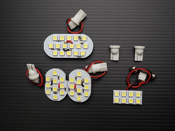 LEDルームランプ ジューク F15 大注目 6点 室内灯 ホワイト 新作アイテム毎日更新 ルームランプ TN-8091 白