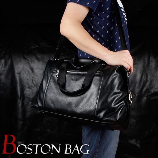 MY BAG ボストンバッグ 耐久性 柔らかい本革 牛革 レザー 上質合金 メンズ 男性用 2way 手提げ 肩掛け ショルダーバッグ メッセンジャーバッグ 15121