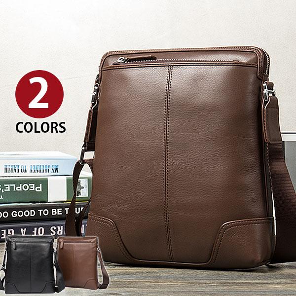 MY BAG 独特デザイン ボディバッグ 本革 牛革 ショルダーバック 鞄 ipad収納 軽量 メンズバッグ 斜めがけバッグ カバン 通勤、通学、出張等 201-4 XP