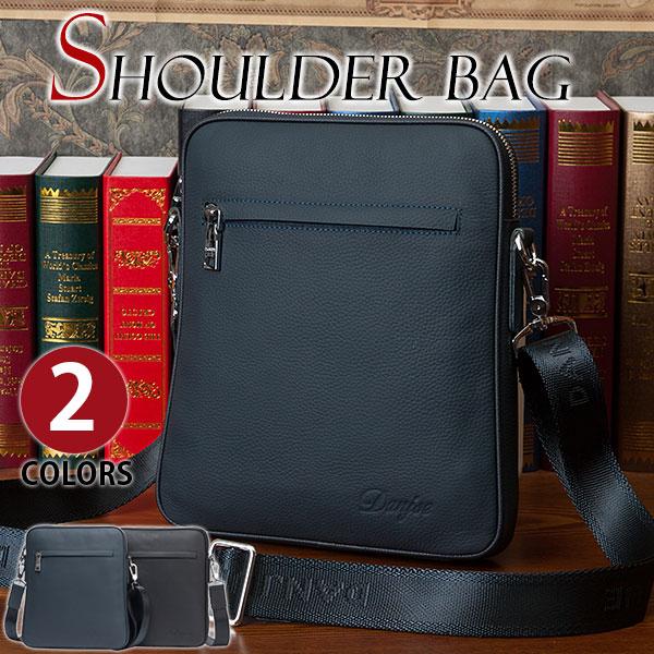 MY BAG ショルダーバッグ ビジネスバッグ 縦型 軽便 実用 耐久性 本革 牛革レザー メンズ 男性用 メッセンジャーバッグ 通勤 通学 出張 小旅行鞄 8852-4