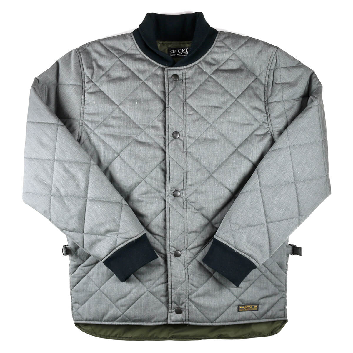 7d657793 CFT'S sea F Tees SC QUILTING JACKET quilting jacket CHARCOAL charcoal [men  man outer military ...
