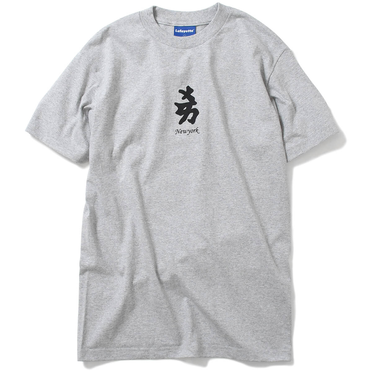 Lafayette ラファイエット半袖 Tシャツ メンズ ストリート ブランド ティーシャツ ティー Rakim ラキム S M L XL XXL WHEN I B ON THE MIC TEE LA190119 HEATHER GRAY ヘザーグレー グレー 灰