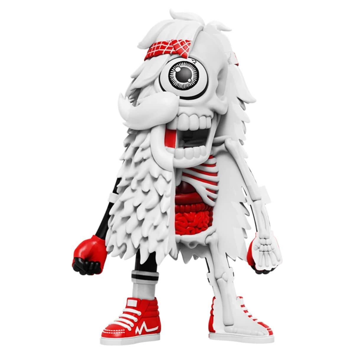MIGHTY JAXX マイティージャックス DISSECTED MISTER HELLYEAH (WHITE EDITION) フィギュア 海外限定 国内未発売 デザイナートイ 人形 おもちゃ インテリア WHITE ホワイト