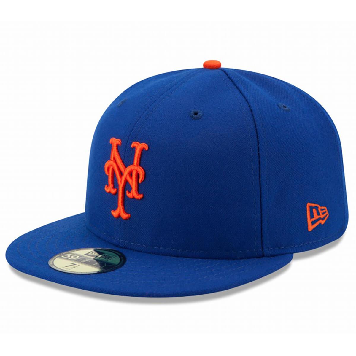 NEWERA ニューエラ 59FIFTY キャップ メンズ レディース 男性 女性 ウィメンズ ユニセックス 男女兼用 NEW YORK METS ニューヨークメッツ MLB 野球 ベースボール 帽子 11449356 ROYAL ロイヤル 青 NEW ERA