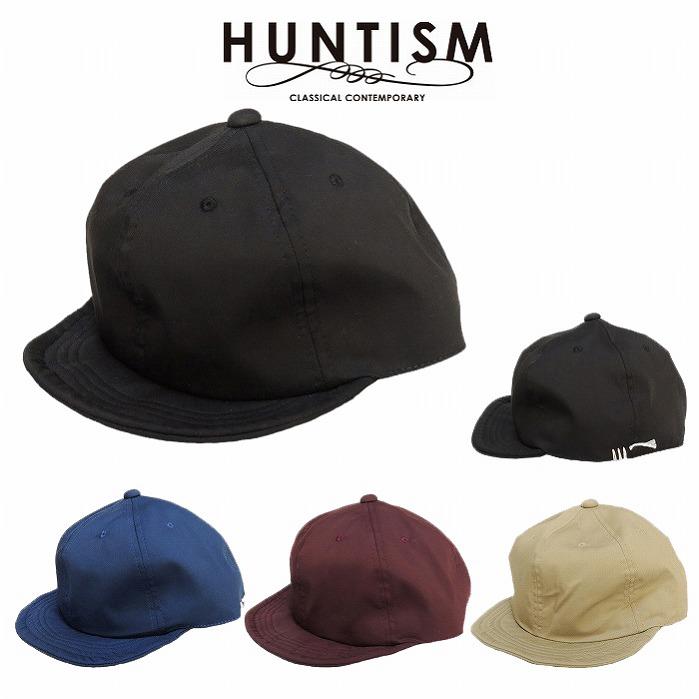 【再入荷/あす楽対応】【HUNTISM 正規店】HUNTISM ハンティズム キャップ 帽子 つば短め UMPIRE CAP