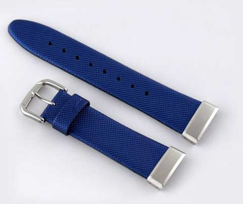 Baby G pure band-MSG-133L-2CV belt blue 20 mm (10069759) /Casio, 20 mm blue Leather band, gifts