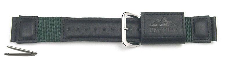 [Order product] Casio Pro Trek-only belt PRT-40BJ only Berutobane stick with even (leather / mesh) PRT-50BJ/30BJ/11BJ mountable installation width 20mm (70649329)