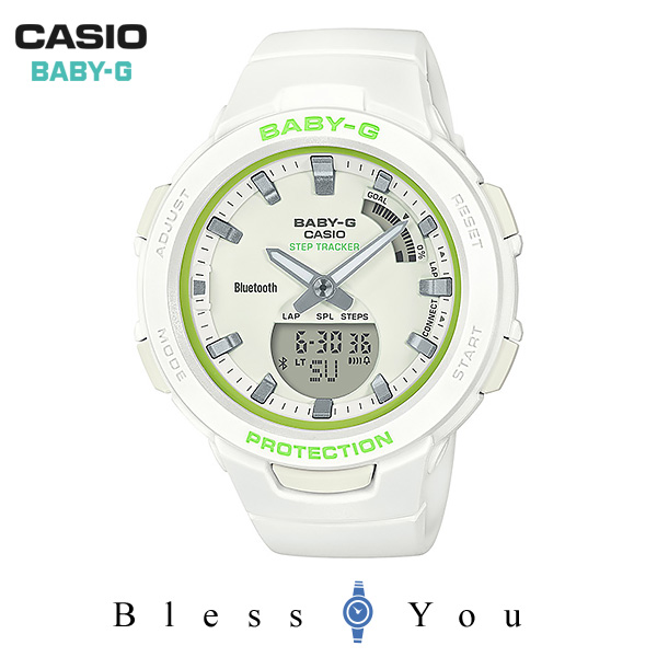 ポイント10倍 CASIO BABY-G カシオ 腕時計 レディース ベビーG 2019年2月新作 BSA-B100SC-7AJF 15,5