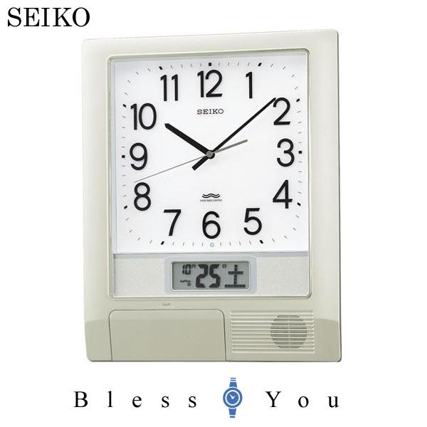 【お取り寄せ】セイコー チャイムクロック 電波時計 SEIKO PT201S 25,0 プログラムクロック