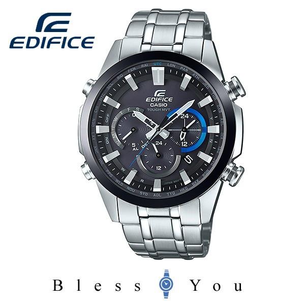 【SS期間中エントリー+カードでポイント10倍!】CASIO EDIFICE カシオ 電波ソーラー 日本製 腕時計 メンズ エディフィス 日本製 EQW-T630JDB-1AJF 42,0