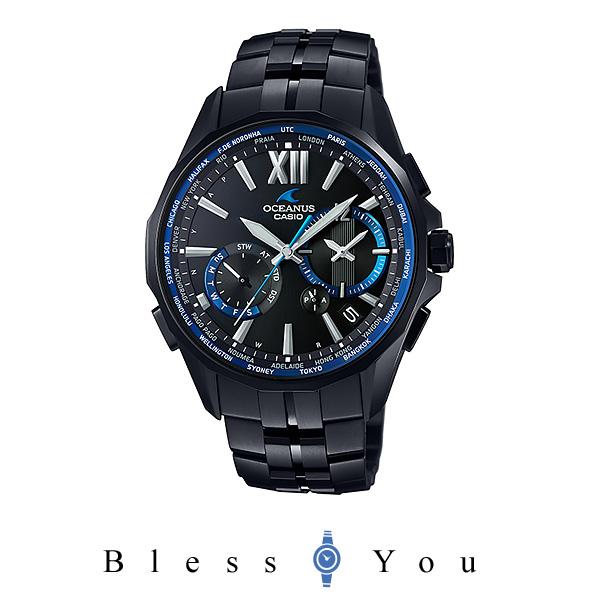 カシオ ソーラー電波 腕時計 メンズ オシアナス OCW-S3400B-1AJF 210,0
