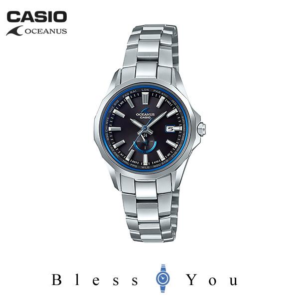 ポイント10倍 CASIO OCEANUS カシオ 電波ソーラー 腕時計 レディース オシアナス マンタ OCW-S350-1AJF 140,0