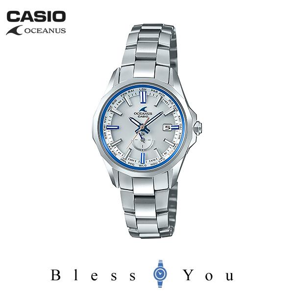 CASIO OCEANUS カシオ 電波ソーラー 腕時計 レディース オシアナス  マンタ OCW-S350F-7AJF 145,0