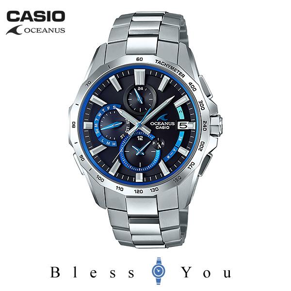 CASIO OCEANUS カシオ ソーラー電波 腕時計 メンズ オシアナス 2018年6月 OCW-S4000-1AJF 160,0
